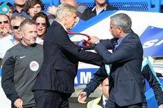 Arsène Wenger vs José Mourinho