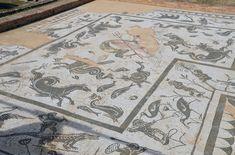 Mosaic of Neptune, House of Neptune, Italica