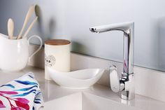 Affordable Kitchen Taps and Accessories by Grohe – You'll find it @ www.plumbitonline.co.za Square Sink, Kitchen Taps, Mixer, Accessories, Kitchen Faucets, Blenders, Ornament