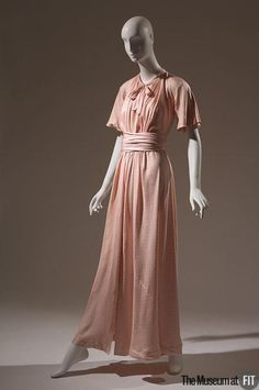 Dress Madeleine Vionnet, 1932 The Museum at FIT