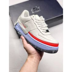 3f73b2e591 Nike Womens Af1 Jester Xx Deadstock Exclusive Leather Upper Sole Beauty Hot  Cake Exclusive Private Sole Air Logo Protruding Non