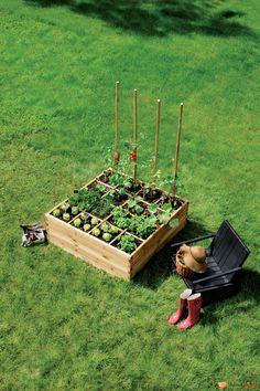 Vos légumes maison à portée de main.