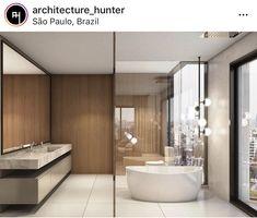 Big Bathrooms, Sweet Home, Deco, Architecture, Land Scape, Foto E Video, Bathtub, Beautiful, Instagram