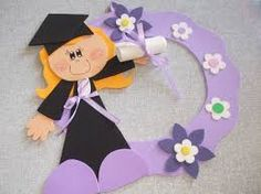 Süs Graduation Crafts, Kindergarten Graduation, Graduation Decorations, Graduation Day, Foam Crafts, Diy And Crafts, Crafts For Kids, Educational Toys For Toddlers, Activities For Kids