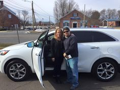 This week we congratulate Frank Rodriguez who just took delivery of this 2016 Kia Sorento SX AWD! What a spectacular driving vehicle! Frank came in and worked with our product specialist, Bill Maki, and found the ride that was right for him! We are excited to welcome to Rodriguez's into the Gary Rome Kia family and we look forward to seeing them at their first free oil change!  Www.GaryRomeKia.com or call us at (860) 253-4753