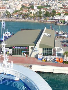At the Port of Turkey . I really want I go back, it's so beautiful and the locals were so nice:)