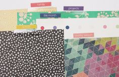 Planner Divider Tabs from Just Make Stuff