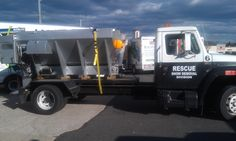 Rescue Snow Removal Truck
