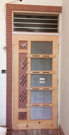 Wooden Door For Rooms Gate. The Most Popular Types Of Back Doors DIY. House Main Door Design, Wooden Front Door Design, Pooja Room Door Design, Main Gate Design, Door Gate Design, Bedroom Door Design, Door Design Interior, Wooden Doors, Flush Door Design