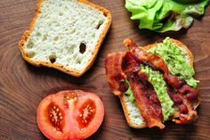 Delight Gluten Free Magazine | Recipes - Smashed Avocado BLT - Doesn't get much easier.