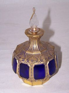 A good 19th century Moser art glass perfume.