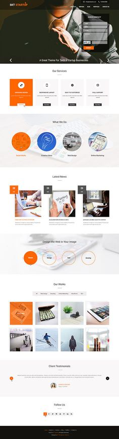 StartUp WordPress th
