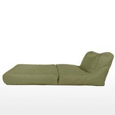 BeanBag Sofa Bed, Grey
