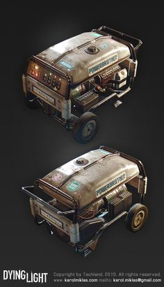 Dying Light Props, Karol Miklas on ArtStation at https://www.artstation.com/artwork/dying-light-props
