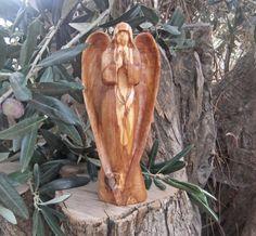 Guardian Angel Hand Sculpted  from Ellenisworkshop by DaWanda.com