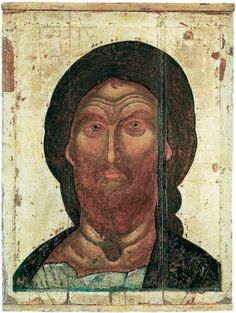 """""""Christ the Ardent Eye"""". Mid - third quarter of the XIV century. Assumption Cathedral in the Moscow Kremlin -- Спас Ярое око"""