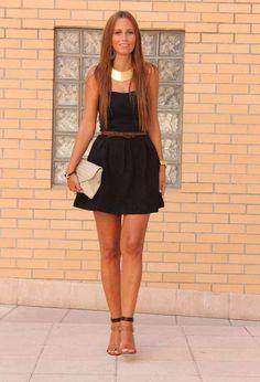 Vestidos cortos color negro de moda casual elegante 2013  http://vestidoparafiesta.com/vestidos-cortos-color-negro-de-moda-casual-elegante-2013/