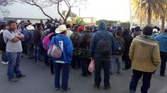 Ciudadanos de San Juan Mazatlán Mixes bloquean calles