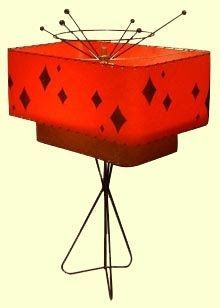 1950's Atomic Ranch House: Speaking of Lamps and Accessories