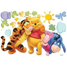 winnie the pooh and friends wall decal                                                 youtube downloader