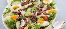 Maalaissalaatti | Pääruoat | Reseptit – K-Ruoka Salad Recipes, Diet Recipes, Healthy Recipes, Healthy Food, Finland Food, Food Porn, Bacon Avocado, Stuffed Jalapenos With Bacon, Scandinavian Food