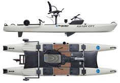 SHOP NOW Blue Sky Boardworks. Kayak City is the largest kayak exclusive shop in the US. We have thousands of kayaks in stock ready to ship! Bass Fishing Tips, Sea Fishing, Gone Fishing, Trout Fishing, Kayak Fishing, Fishing Stuff, Fishing Trips, Fishing Tackle, Fishing Charters