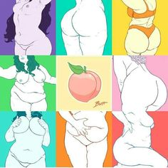 Body positive by bloozchicken