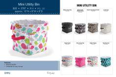 mini-utility-bin: Spring 2014 Prints! www.mythirtyone.com/368874