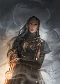 Mother Blackbeak,High Witch of The Blackbeak Clan and Manon's Grandmother