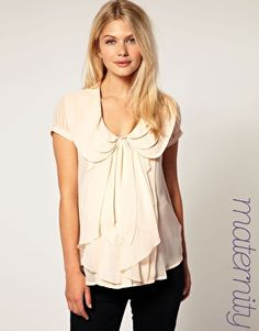 This maternity shirt is so lovely! $25.86 from ASOS