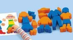 Build-A-Kid Sponge Painters -Lakeshore