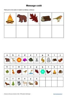 Chasse au trésor gratuite à télécharger PDF Games For Kids, Activities For Kids, Detective, Rainforest Habitat, Pokemon, Forest School, Diy Games, School Themes, Card Maker
