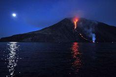Le Stromboli et l'Etna en colère (vidéo) - Voyage - Weekend.be - LeVifWeekend.be