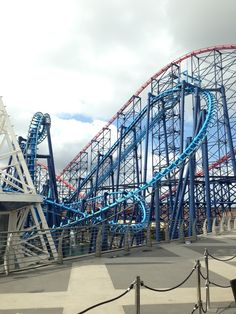Blackpool Pleasure Beach in Blackpool, Blackpool