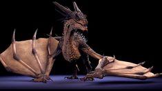 Free Maya Dragon Rig