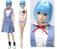 momokoDOLL as GAINAX Girls 001 綾波レイ