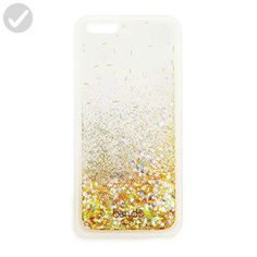 Ban.do Cell Phone Case for iPhone 6/6s - Retail Packaging - Glitter Bomb Clear - Little daily helpers (*Amazon Partner-Link)