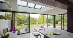 Veranda moderne toit plat en alu : Extanxia | Concept Alu