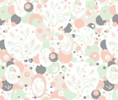 Almond Essence fabric by cleolovescolor on Spoonflower - custom fabric