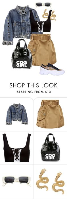 """""""Sans titre #546"""" by a4styled ❤ liked on Polyvore featuring Marc Jacobs, Puma, Comme des Garçons GIRL, Natia Khutsishvili and adidas"""