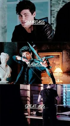 Alec Lightwood...Matthew Daddario is life