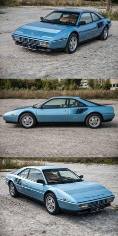 Ferrari Mondial, Ferrari 288 Gto, Old Cars, Jdm, Muscle Cars, Vintage Cars, Super Cars, Red Heads, Motors