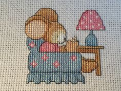 Furry Tales Cosy Mouse  The World of Cross Stitching Issue 237 January 2016 Saved
