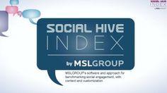 Mit dem Social Hive Index stellt die MSLGROUP ein neues Analyseinstrument vor, das die Beteiligung von Unternehmen in Online-Communities bewertet und mit anderen Unternehmen vergleicht.