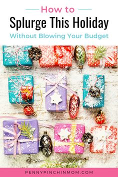 Your budget is still necessary for the holidays. You need to make sure. You follow it. Budget for the big-ticket items and find a way to make the numbers work. Christmas On A Budget, Easy Christmas Crafts, Simple Christmas, All Things Christmas, Christmas Shopping, Diy Plaster, Globe Ornament, Long Distance Gifts, Budget Planner