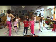 Cvičení s Hankou Kynychovou pro děti - 2. část - YouTube