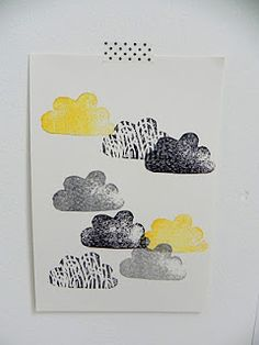 stamp clouds