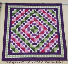 This is a simple but beautiful quilt.
