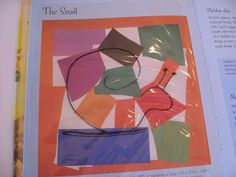Henri Matisse: The Snail. Can you find it?