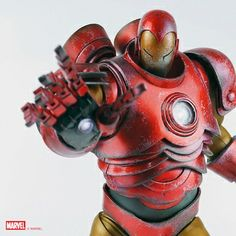 threeA Iron Man Origin Armor 1/6 Scale Figure. #ironman alteregocomics.com